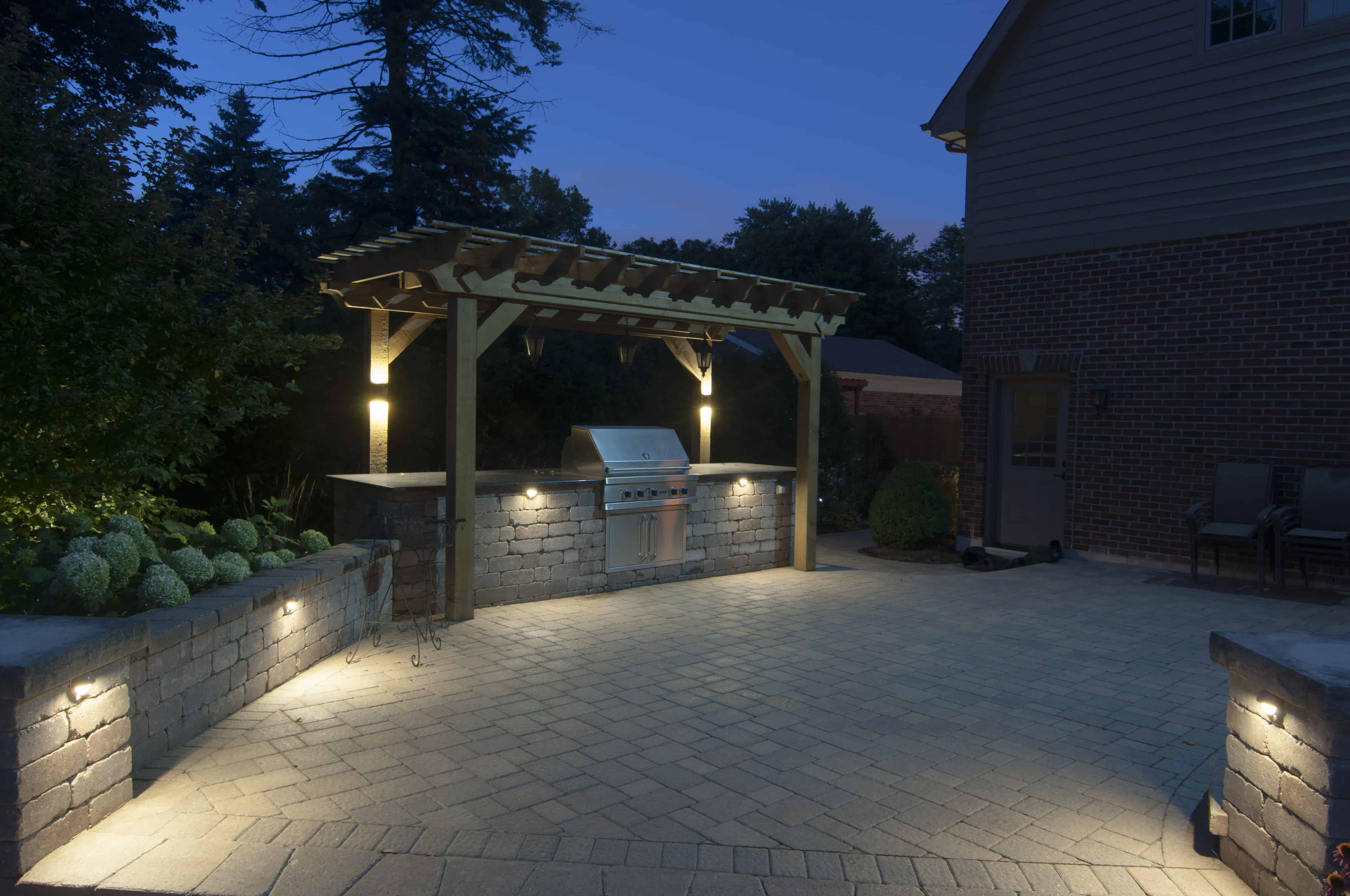 Deck and Patios Outdoor Lighting in Chicago IL