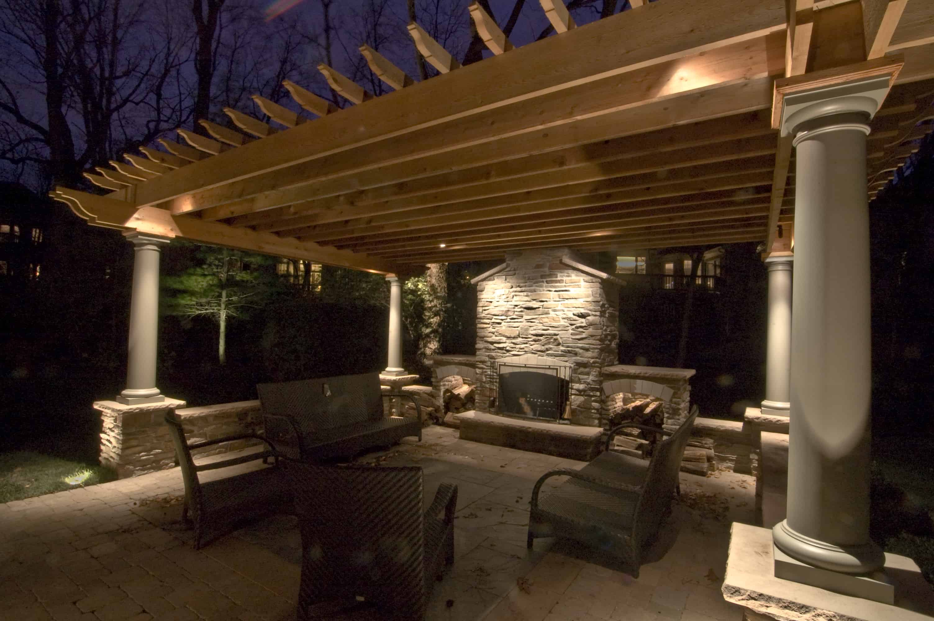 Outdoor Pergola Lighting Democraciaejustica
