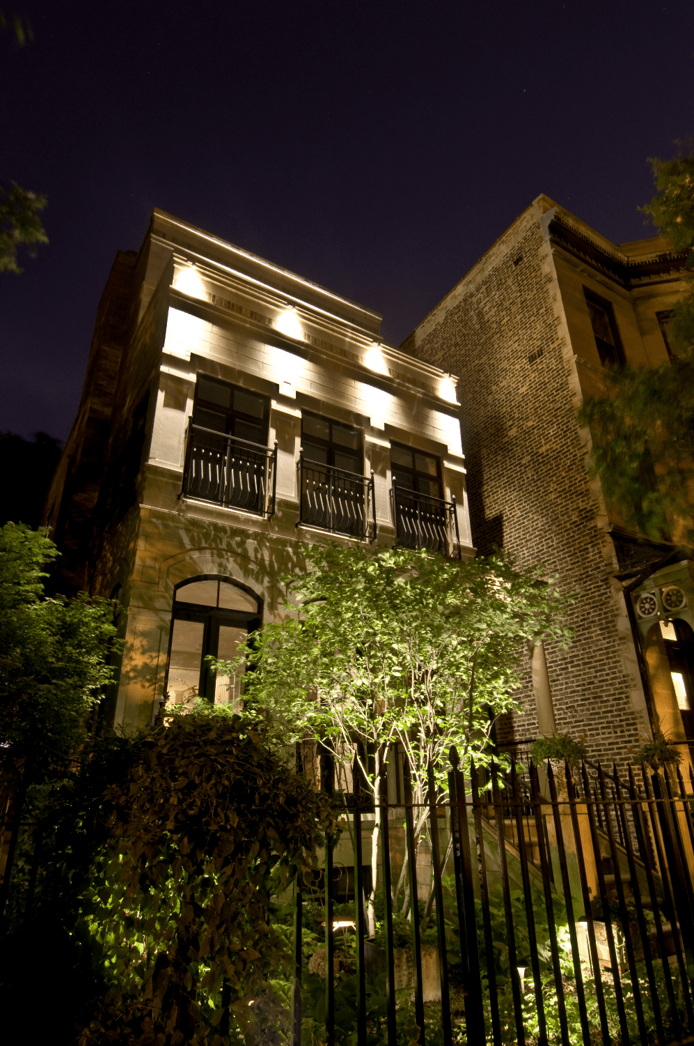 Chicago Residential Lighting Outdoor In