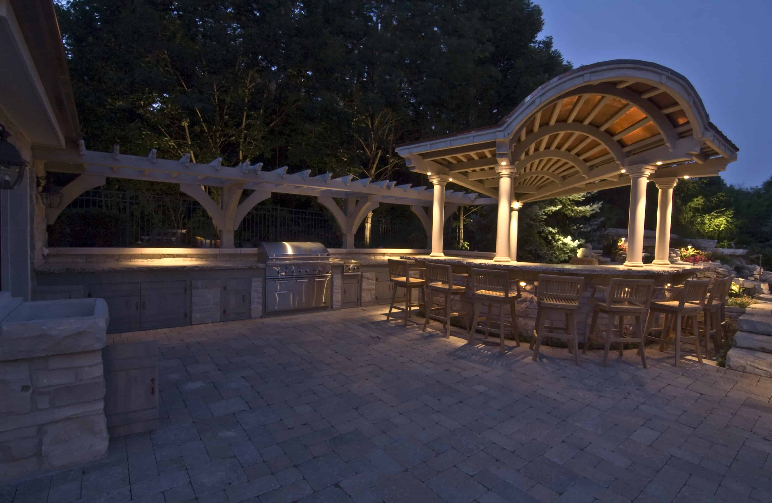 Kitchen Bars And Grills Outdoor Lighting In Chicago Il Outdoor Accents