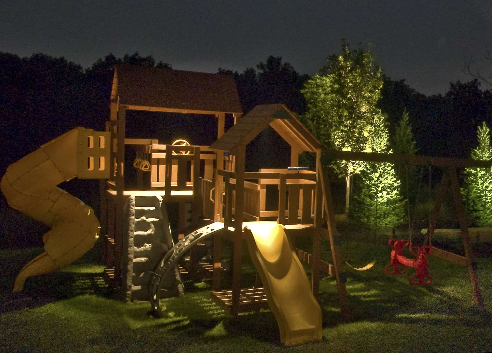 Sport and recreation outdoor lighting in chicago il for Outdoor accent lighting