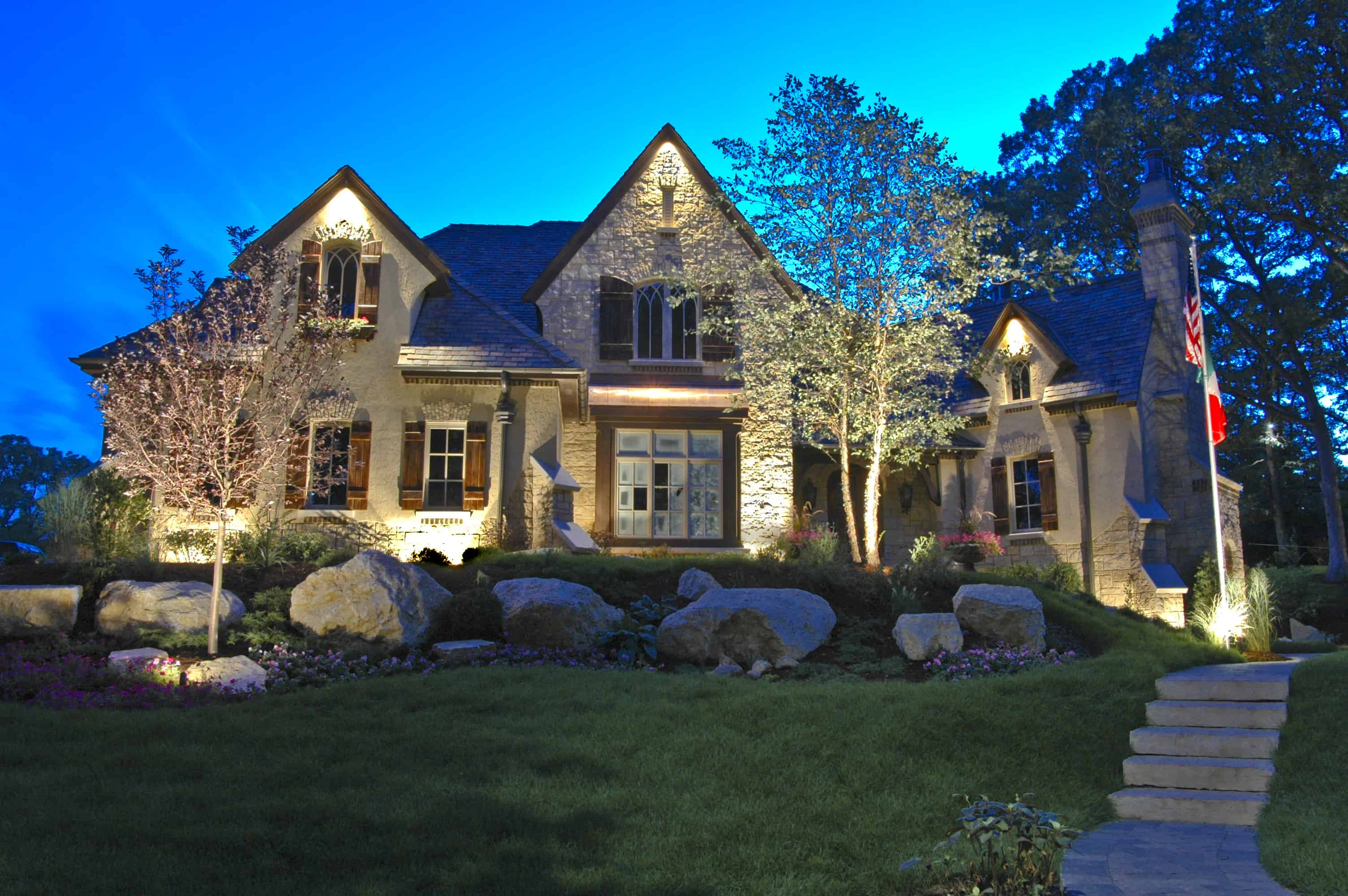 Exterior Accent Lighting For Home 8 Effective Beautiful