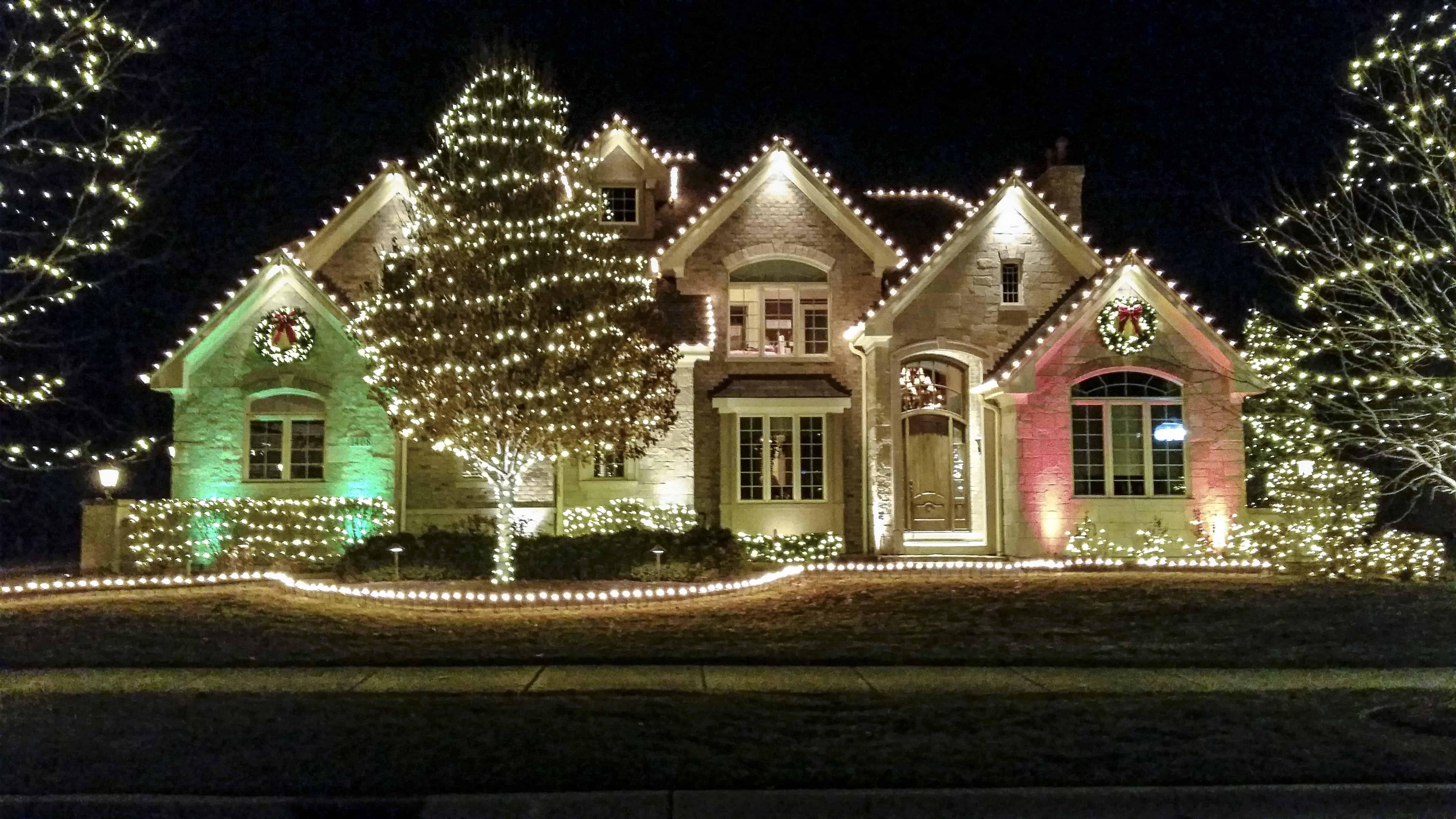 home ludwig christmas - Christmas Outdoor Spotlights