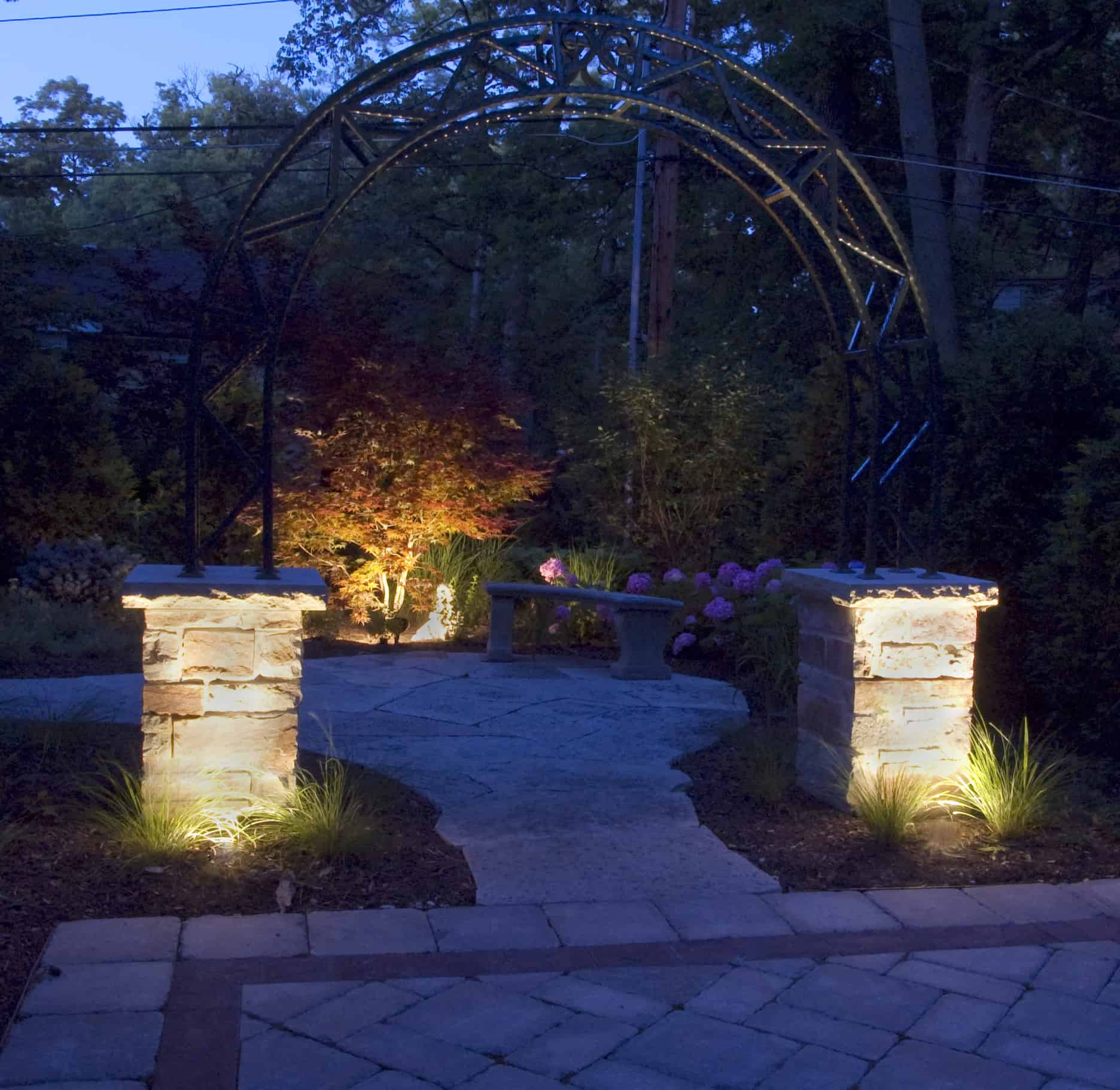 Lighting Chicago Il: Hardscapes - Outdoor Lighting In Chicago, IL