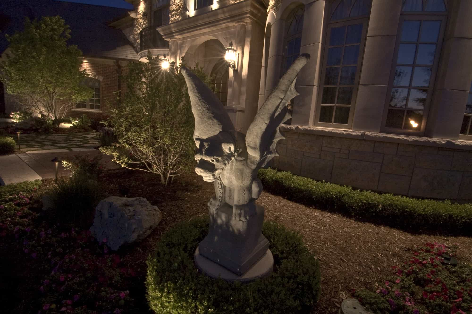 Accent lighting outdoor lighting in chicago il for Landscape accent lighting