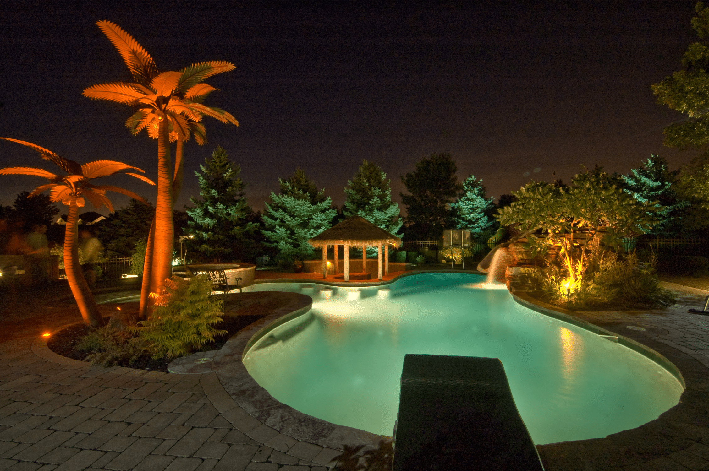 Frankfort Pool Lighting - Outdoor Lighting in Chicago, IL ...